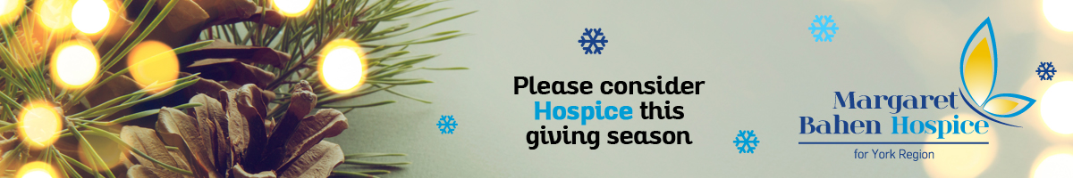 Christmas tree light - Please consider Hospice this giving season