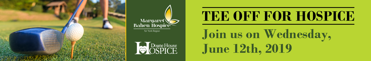 Tee Off for Hospice - June 12th 2019
