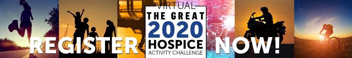 The Great 2020 Hospice Activity Challenge - Register now!