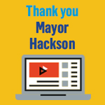 Thank you Mayor Hackson video